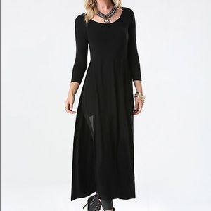 Bebe long Tunic mini dress